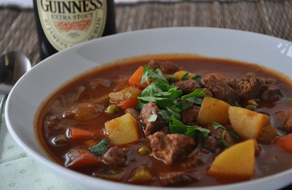 Guinness Beer Braised Irish Beef Stew - Healthy Recipes -